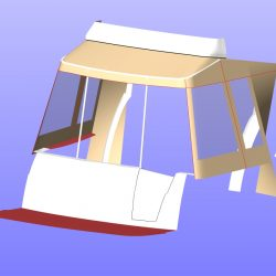 Beneteau Antares 30 Cockpit Enclosure, JACARANDA_14
