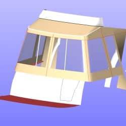 Beneteau Antares 30 Cockpit Enclosure, JACARANDA_8