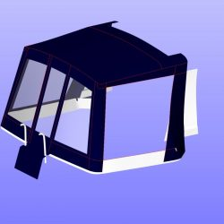 Hardy 25 Cockpit enclosure, redesigned replacement for original cover_11