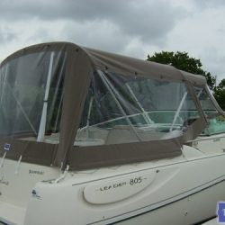 Jeanneau Leader 805, fore and aft replacement Canopies_3