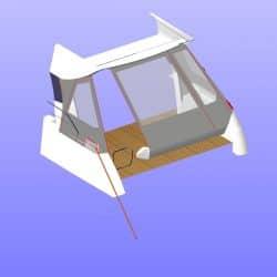 Jeanneau Prestige 460S Cockpit Enclosure_10