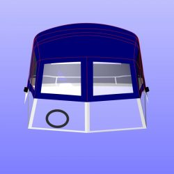 Sunseeker Mexico 24 Fore and Aft Canopies_12