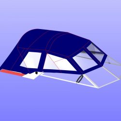 Sunseeker Mexico 24 Fore and Aft Canopies_19