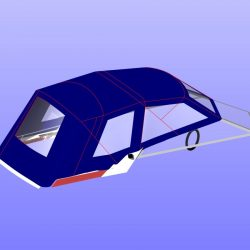 Sunseeker Mexico 24 Fore and Aft Canopies_20