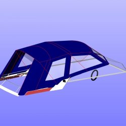 Sunseeker Mexico 24 Fore and Aft Canopies_22