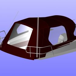 Bavaria Cruiser 32, 2013 Cockpit Enclosure fitted to Tecsew Sprayhood_1