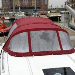Bavaria Cruiser 32, 2013 Cockpit Enclosure fitted to Tecsew Sprayhood_10