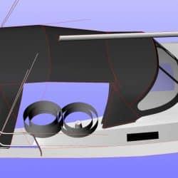 Bavaria Cruiser 33, 2013 Cockpit Enclosure_9