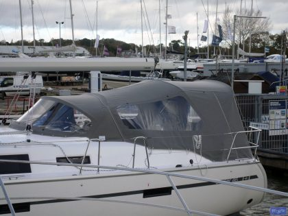 Bavaria Cruiser 46, 2014 model, Cockpit enclosure_1