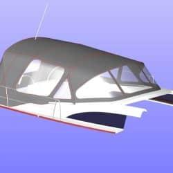Bavaria Vision 42 Cockpit Enclosure_7