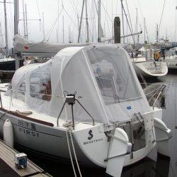 Beneteau First 21.7 Cockpit Enclosure_4