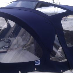 Beneteau Oceanis 331 Cockpit Enclosure shown with optional extra roof window_3