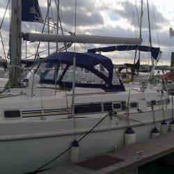 Beneteau Oceanis 40cc Sprayhood recover for factory fit original_1
