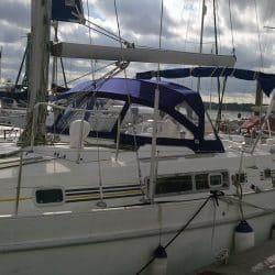 Beneteau Oceanis 40cc Sprayhood recover for factory fit original_4