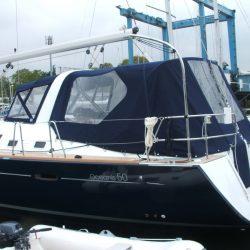 Beneteau Oceanis 50, 2009 model, Cockpit Enclosure_3
