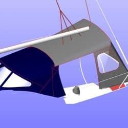 Dehler 36SQ, SUKAMA, Suspended Cockpit Enclosure_15