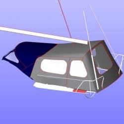 Dehler 36SQ, SUKAMA, Suspended Cockpit Enclosure_13