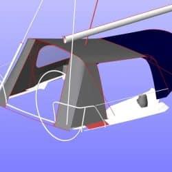 Dehler 36SQ, SUKAMA, Suspended Cockpit Enclosure_14