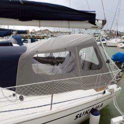 Dehler 36SQ, SUKAMA, Suspended Cockpit Enclosure_5