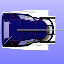 Dehler 38 Cockpit Enclosure alternative window design_16