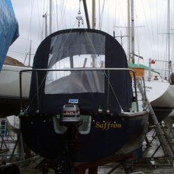 Four 21 Keel Yacht Cockpit Enclosure, Saffron_3