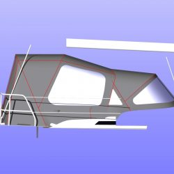 Hanse 345 Cockpit Enclosure fitted to Tecsew Sprayhood_4