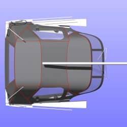 Hanse 345 Cockpit Enclosure fitted to Tecsew Sprayhood_5
