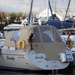 Hanse 411 Sprayhood recover and new Cockpit Enclosure_2
