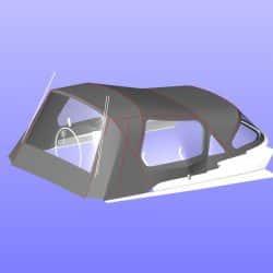 Hanse 415 Cockpit Enclosure_12