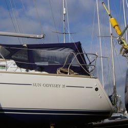 Jeanneau Sun Odyssey 35, 1 bar Cockpit Enclosure_1