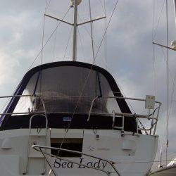 Jeanneau Sun Odyssey 35, 1 bar Cockpit Enclosure_2