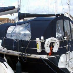 Jeanneau Sun Odyssey 40.3 Cockpit Enclosure fitted to Tecsew Sprayhood_1