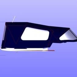 Jeanneau Sun Odyssey 40.3 Cockpit Enclosure fitted to Tecsew Sprayhood_11