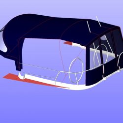 Jeanneau Sun Odyssey 40.3 Cockpit Enclosure fitted to Tecsew Sprayhood_13