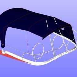 Jeanneau Sun Odyssey 40.3 Cockpit Enclosure fitted to Tecsew Sprayhood_14