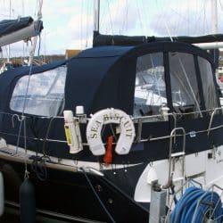 Jeanneau Sun Odyssey 40.3 Cockpit Enclosure fitted to Tecsew Sprayhood_4