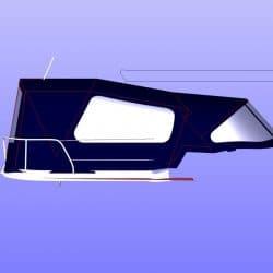 Jeanneau Sun Odyssey 40.3 Cockpit Enclosure fitted to Tecsew Sprayhood_8