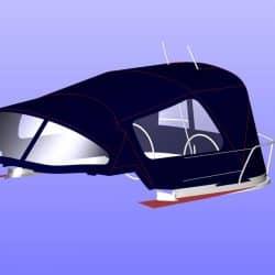 Jeanneau Sun Odyssey 40.3 Cockpit Enclosure fitted to Tecsew Sprayhood_9