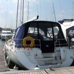 Jeanneau Sun Odyssey 42ds, 2010 onwards, Bespoke Cockpit Enclosure fitted to Tecsew standard Sprayhood_4