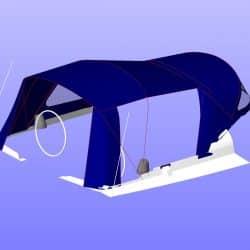 Jeanneau Sun Odyssey 42i Cockpit Enclosure_13