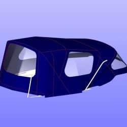 Maxi 95 Cockpit Enclosure, ref 6106_4