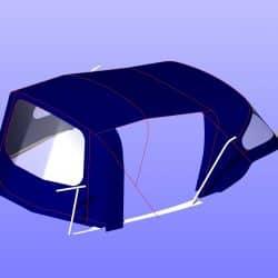 Maxi 95 Cockpit Enclosure, ref 6106_9