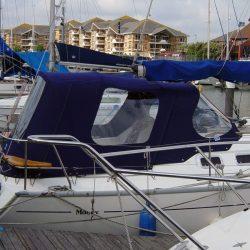 Moody 31 Cockpit Enclosure and Sprayhood recover, Miranda_1