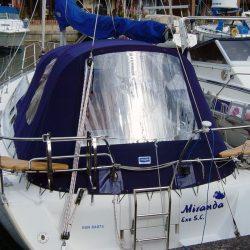 Moody 31 Cockpit Enclosure and Sprayhood recover, Miranda_3