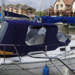 Moody 31 Cockpit Enclosure and Sprayhood recover, Miranda_4