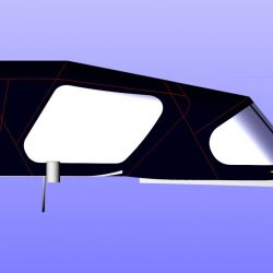 Moody 42 Cockpit Enclosure fitted to Tecsew Sprayhood, SCOTT FREE_6