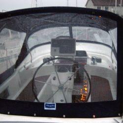 Moody 42 fixed screen Cockpit Enclosure, Sugar Wing_3