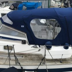Najad 361 'Libra of Lorne' Cockpit Enclosure_2