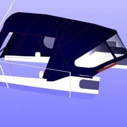 Westerly Konsort Cockpit Enclosure, IONA_7