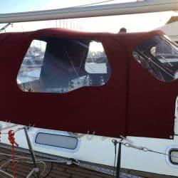 Westerly Oceanlord LACONDORE, Cockpit Enclosure_2